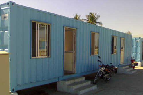 Mobile Office Container Cabin Properties Nigeria