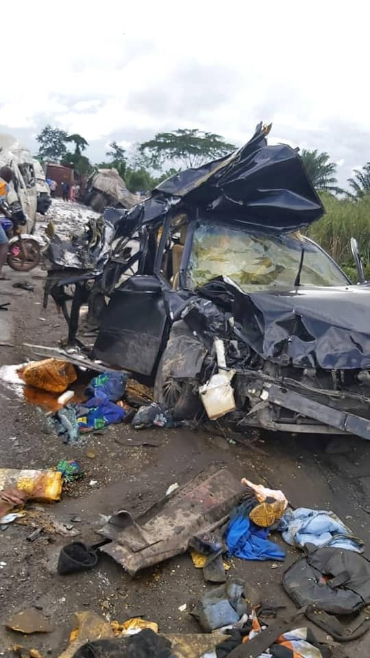 7 People Killed In An Accident Along Benin-Asaba  Road