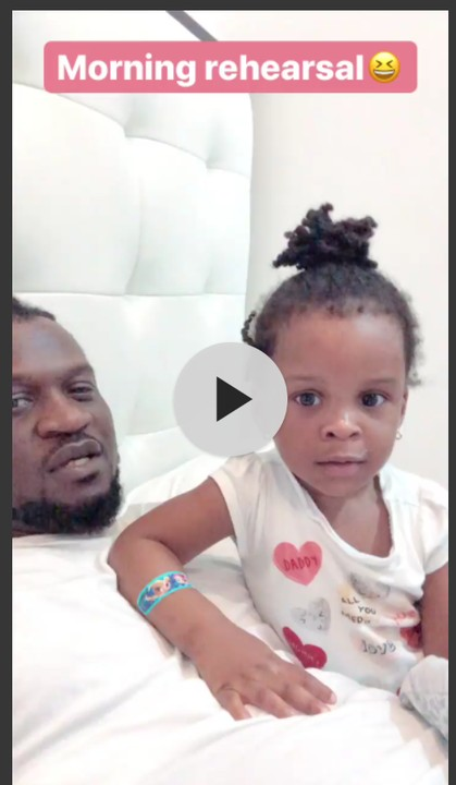 Paul Okoye 's Daughter, Nadia, Sings 'Reason With Me' With