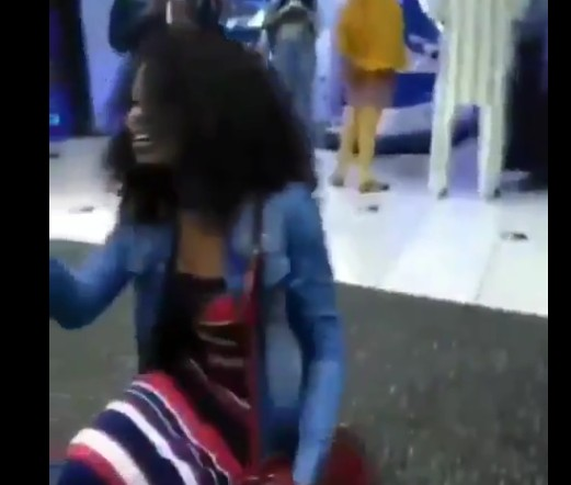 Lady Slaps Boyfriend For Refusing Her Proposal After Dating Her For 6 Years
