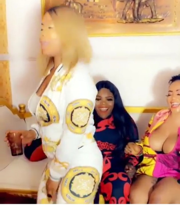 """""""Money Makes Me Wet""""- Cossy Orjiakor Parties With Her Friend's In Crutches(video - Celebrities - Nairaland"""