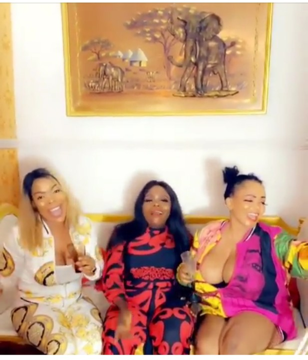 """Money Makes Me Wet""- Cossy Orjiakor Parties With Her Friend's In Crutches(video - Celebrities - Nairaland"
