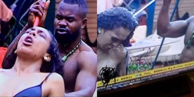 Explicit Video Of Tboss Exposing Her B00bs While Kemen Baths Her Goes Viral