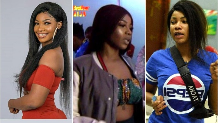 Bbnaija: Tacha's Punishment For Rejecting Several Sponsored Party Outfits