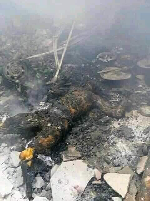 Graphic Photos: Gunmen Shoot & Burnt Many To Death in Rivers