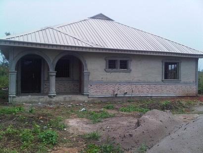 Front Elevation Design Of A Building Bungalow In Lagos