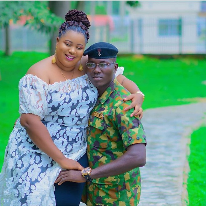 Pre-Wedding Photos Of A Naval Officer And His Plus-Sized Fiancée