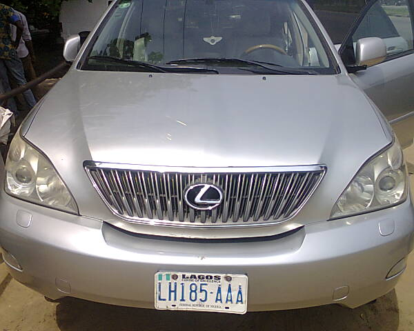 2007 lexus rx 350 neatly used low mileage autos nigeria. Black Bedroom Furniture Sets. Home Design Ideas
