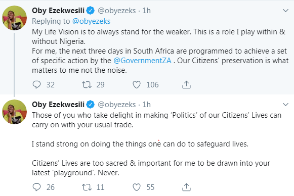 Oby Ezekwesili Reacts As Nigerians Attack Her For Attending World Economic Forum