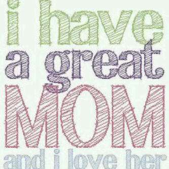 My Mum Is Great Der Countless No Of Tinz About Her Dat Make Me Smile