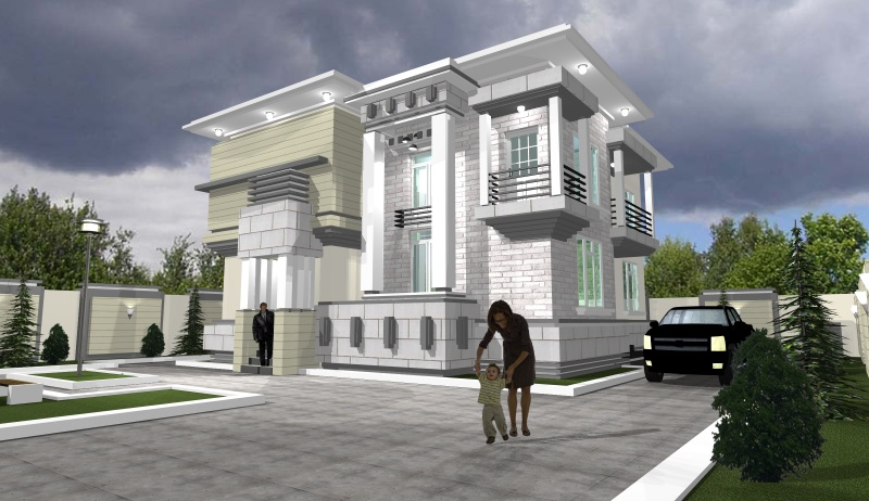 Cost of building a 4 5 bedroom duplex from fuondation for Duplex building cost estimator