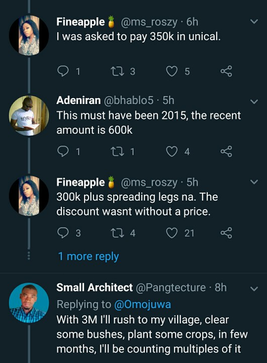 This Lady Was Asked To Pay 300k Plus