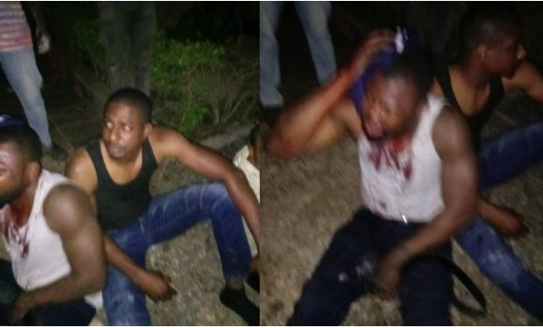 Photos Of Nigerians Arrested For Torturing House Help In Ghana
