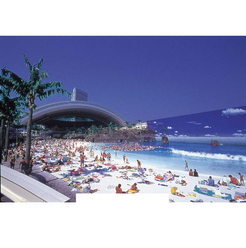 Ocean Dome Indoor Beach In Japan Pictures Travel Nigeria - Indoor man made beach japan incredible