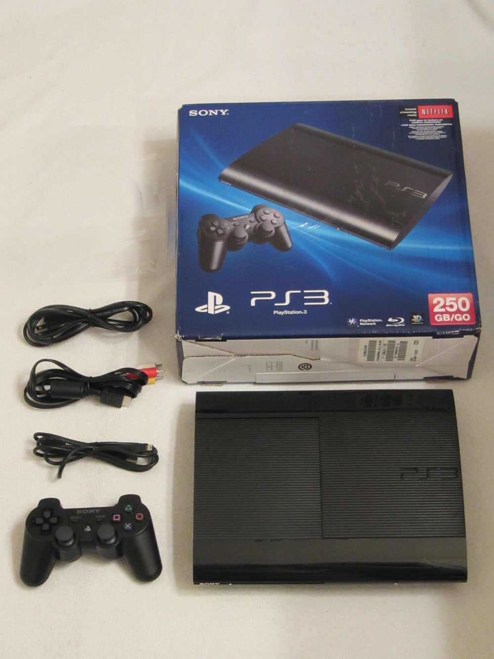 Playstation 3 Super Slim 250gb With Uncharted 3 game cd ..CHEAP** - Technology Market - Nigeria