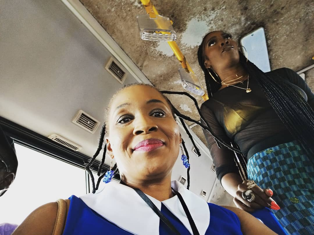 Tiwa Savage With Kemi Olunloyo At Her 49-99 Concert In Lagos (Photos)