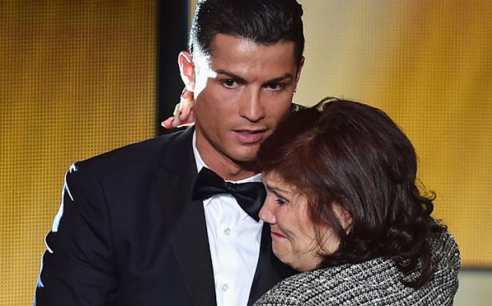Ronaldo Bans Mother From Watching Football After She Fainted Twice In Stadium