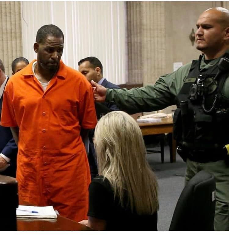 R.Kelly Prison Outfit