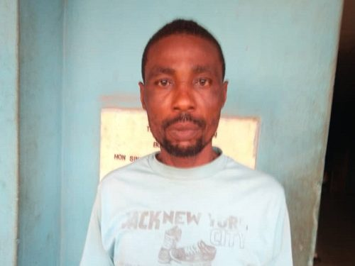 43 Year Old Man Arrested For Defiling Neighbour's Six Year Old Daughter [Photo]