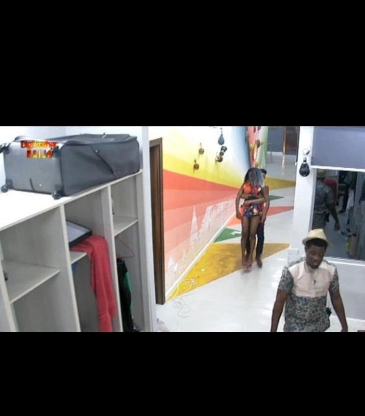 BBNaija: Fight Between Tacha And Diane Over Veto Power Box