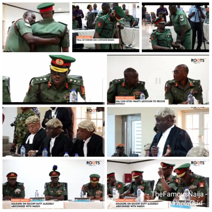 N400M, 5 Runaway Soldiers: Photos From Trial Of Ex General Officer Commanding