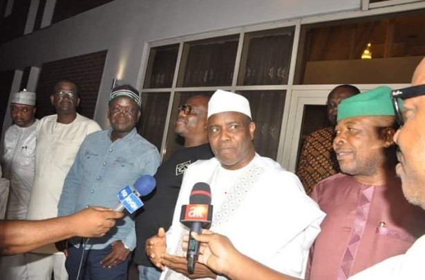 Seyi Makinde, Tamduwal, Others Visit Governor Wike [Photo]