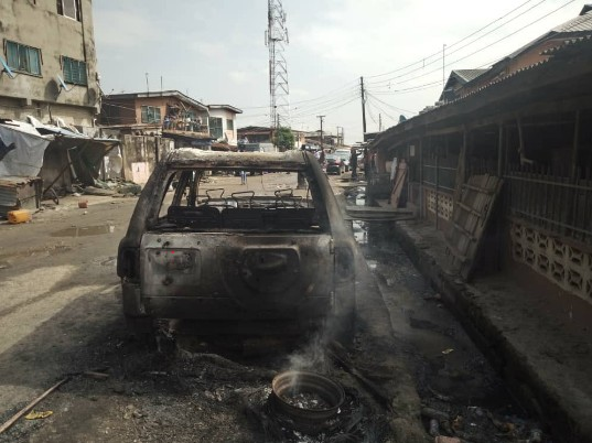 One Dead, Others Arrested In Lagos Cult War (Photos)