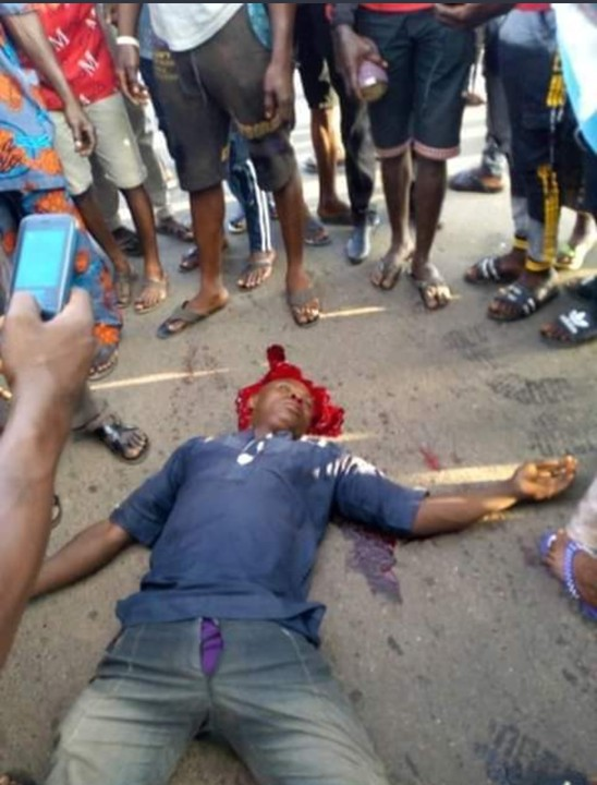 Customs Officers Kill Okada Rider While Chasing Rice Smugglers (Disturbing Photos)