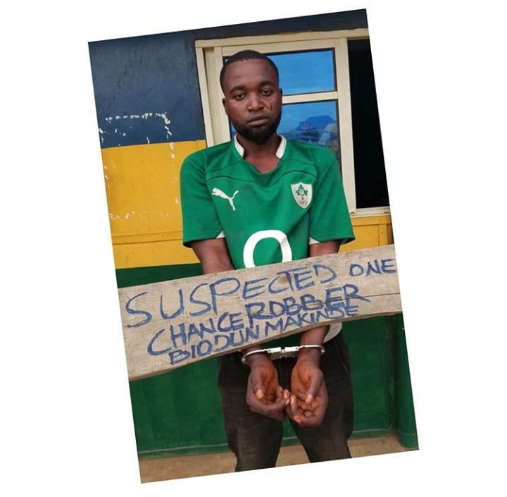 Ogun One-Chance Robber/Rapist Arrested After His Victims Recognized Him