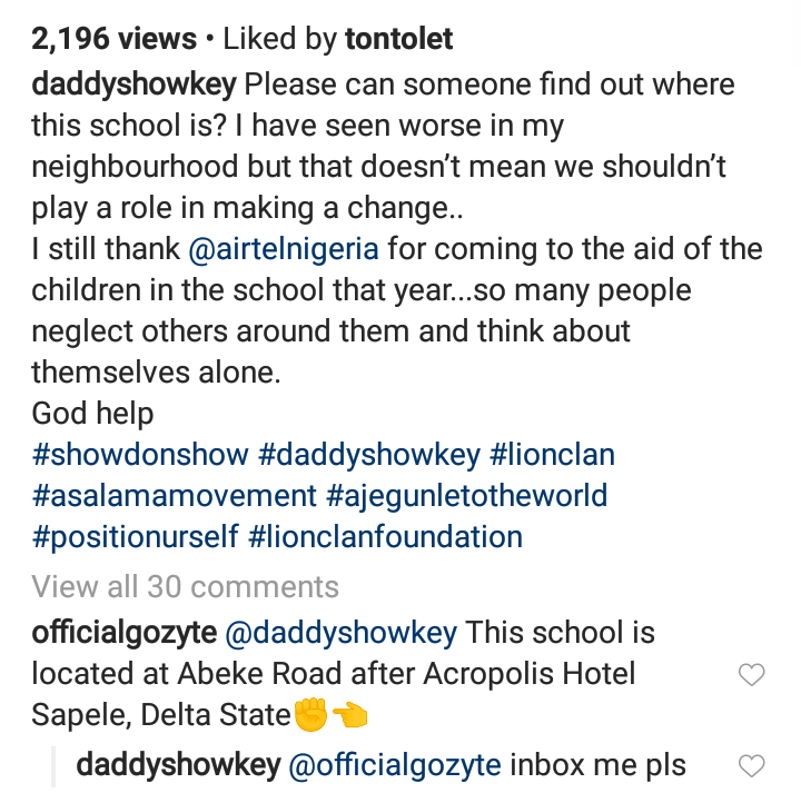 Daddy Showkey Reacts To A School With A Leaking Roof In Delta