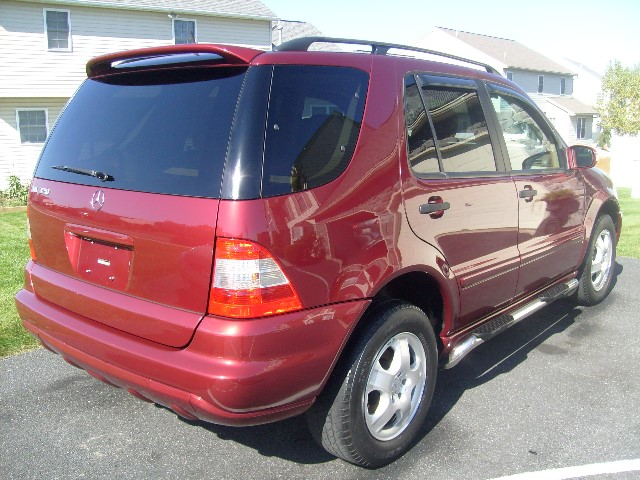 Immaculate 2002 mercedes benz ml320 only for Mercedes benz shades