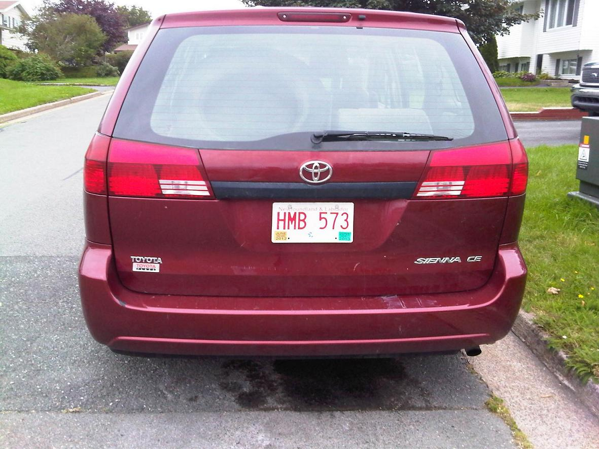 2005 toyota sienna for sale autos nigeria. Black Bedroom Furniture Sets. Home Design Ideas