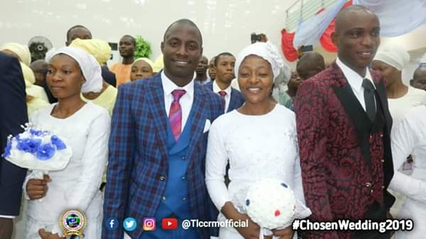Lord's Chosen Members Wed Without Makeup In Lagos (See Photos) 5