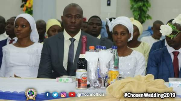 Lord's Chosen Members Wed Without Makeup In Lagos (See Photos) 6