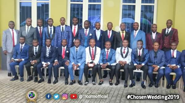 Lord's Chosen Members Wed Without Makeup In Lagos (See Photos) 8
