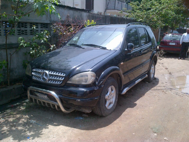nigerian used mercedes benz ml320 2000 for n800k