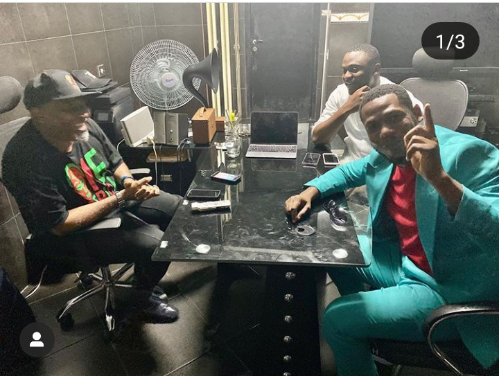 Frodd Meets With Ubi Franklin, Paul O, As He Signs New Deal (Photos) 2