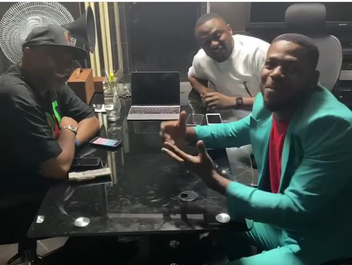 Frodd Meets With Ubi Franklin, Paul O, As He Signs New Deal (Photos) 3