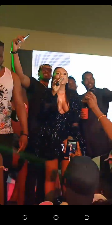 All The Ex Bbnaija Housemates Celebrates With Mercy At Her Party