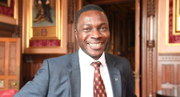 Ugbana Oyet Appointed By Queen Elizabeth As House Of Commons Serjeant At Arms 1