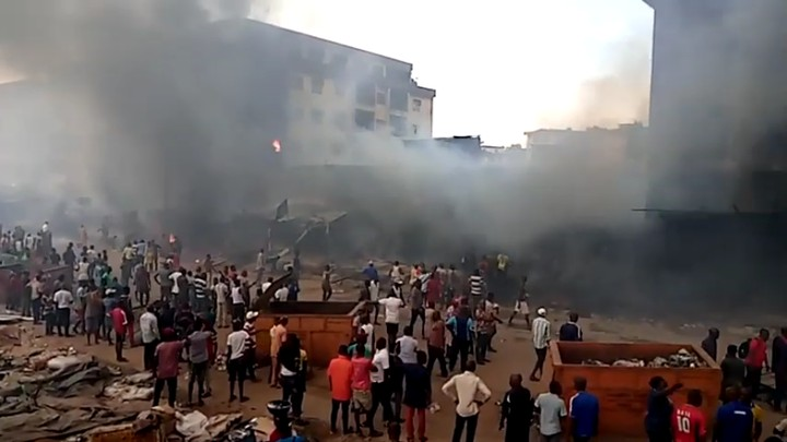 [Breaking News]Mother And Child Burnt In Onitsha Fire Incident In Anambra (Graphic Pix) 6
