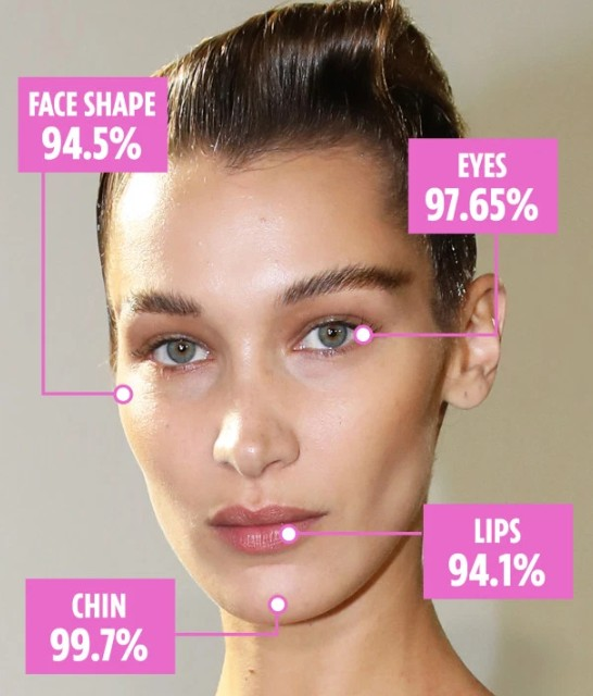 Bella Hadid Is The Most Beautiful Woman In The World - Golden Ratio Of Beauty