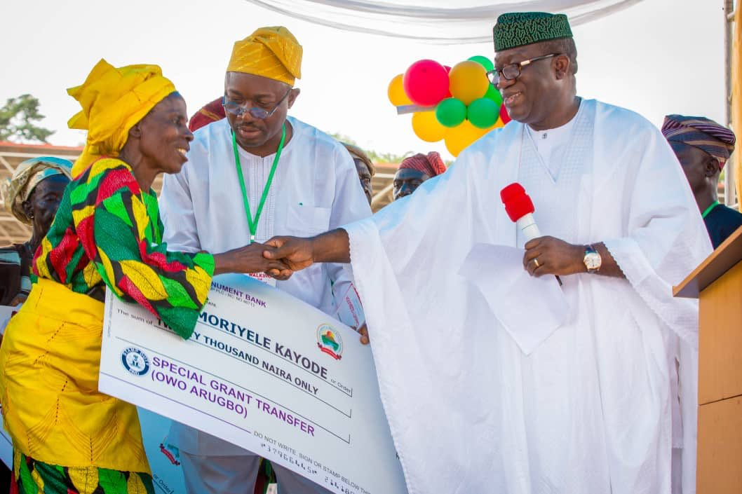 Ekiti Begins N20,000 Payment To The Elderly As Monthly Stipend