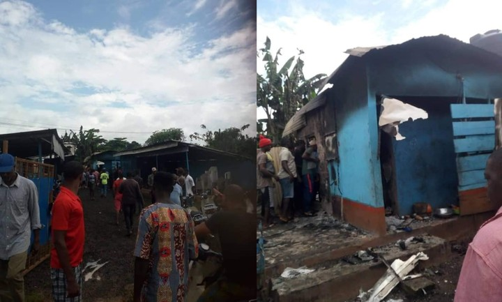 Three Killed In Anambra Beer Parlour Fire [Photo]