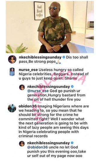 Actress Nkechi Fights Back After Being Attacked For Solidarizing With Mompha