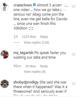 Celebrities, Nigerians Reacts As Lady Accused Davido Slept With Her At Eko Hotel