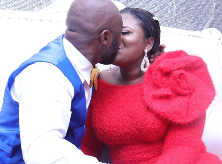 It Started With Hi On Facebook - Bride Thanks God For Directing Her Husband To Her