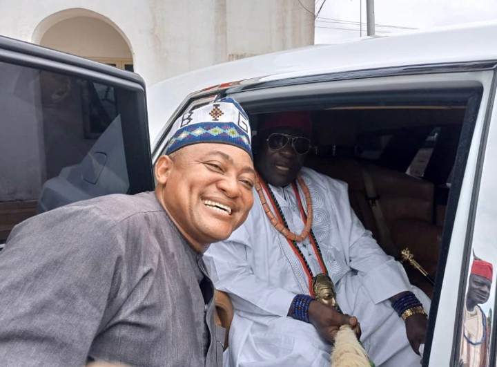Attah Igala Receives Royal White Rolls Royce Phantom Ahead Of Kogi Election