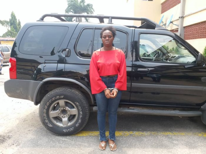 Woman Flees With Lover's SUV Car After Romp [Photo]