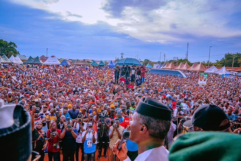 More Photos From Governor Bello's Campaign Flag Off In Idah, Kogi State